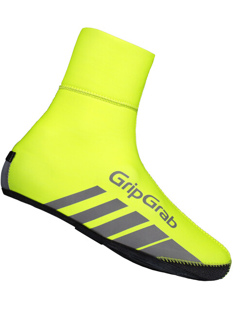 GripGrab RaceThermo Hi-Vis Overshoe Fluo Yellow